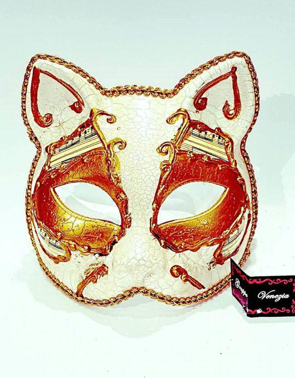Maschera gatto cartapesta