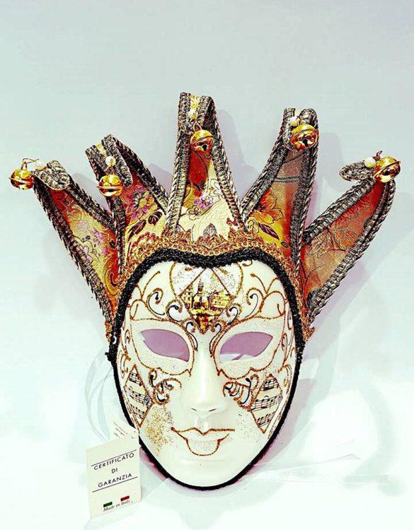 Maschera jolly cartapesta