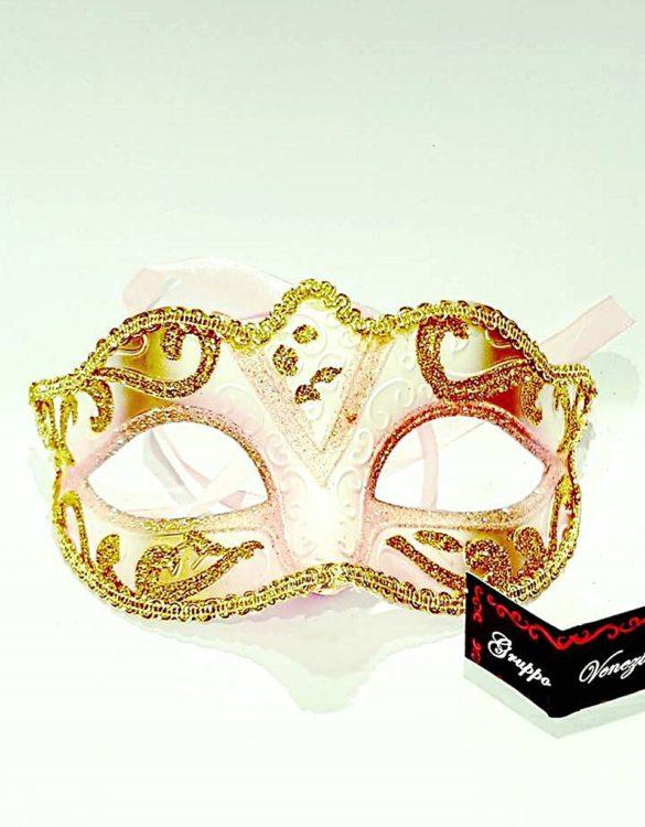 Maschera veneziana colombina crimè