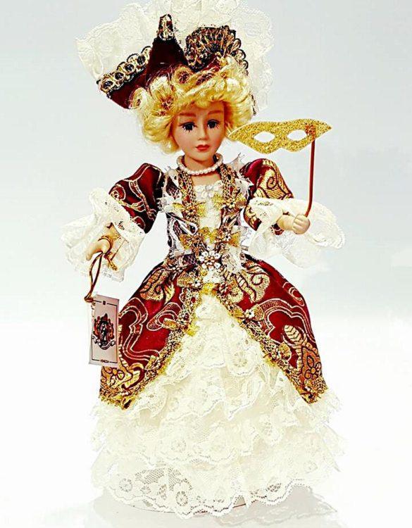 Bambola veneziana damina