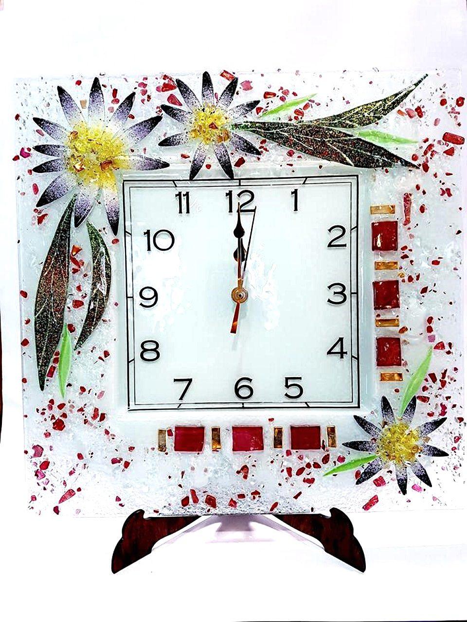 Orologio da parete Aster Vetro veneziano