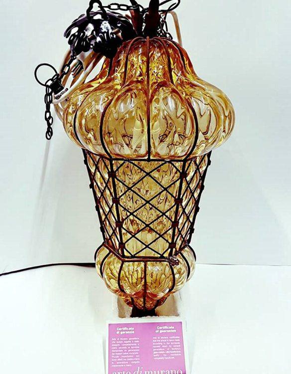 Lanterna veneziana ambra Babà