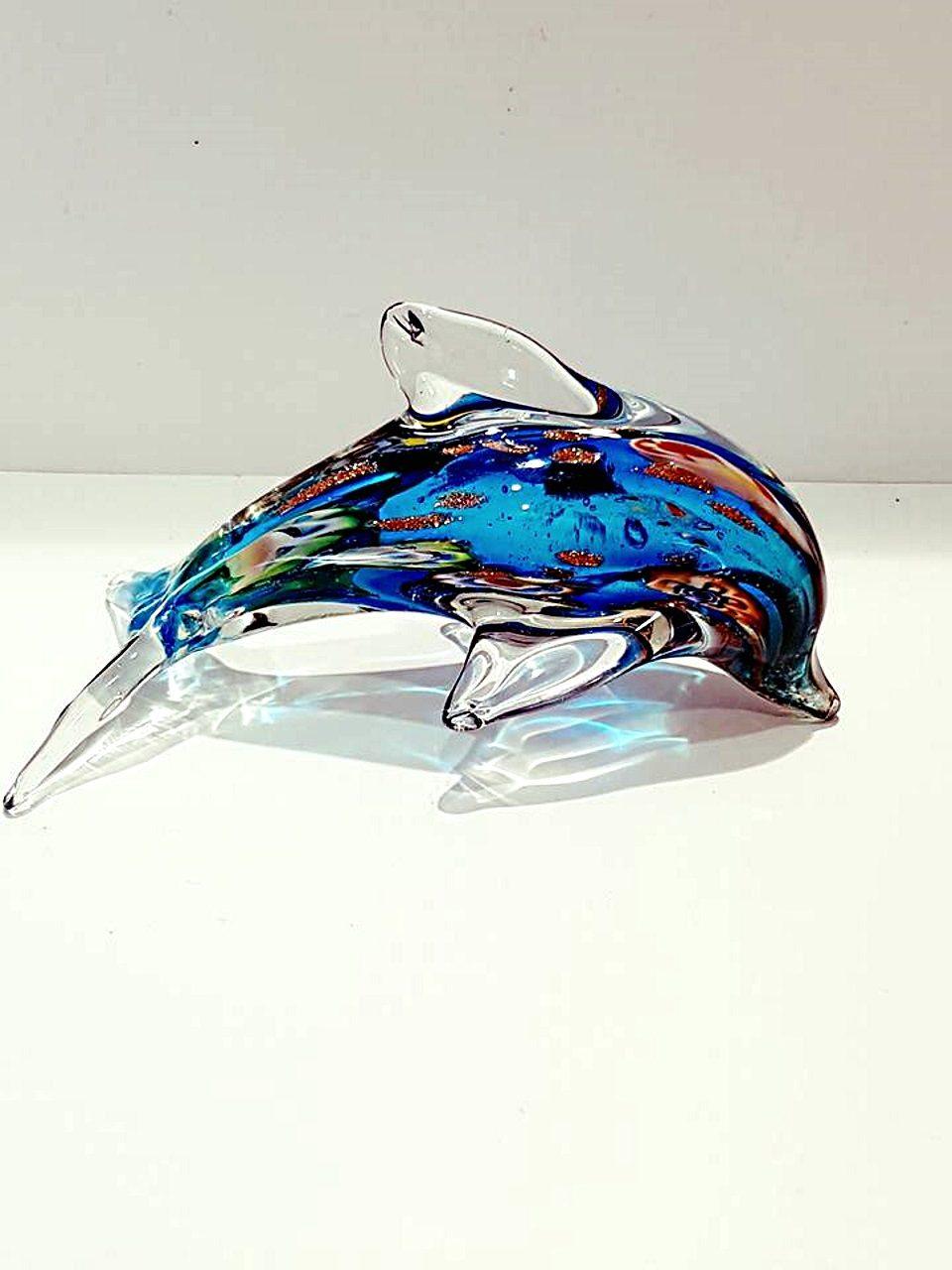 Delfino blu con murrina