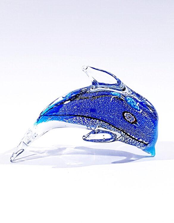 Delfino vetro per arredamento interni