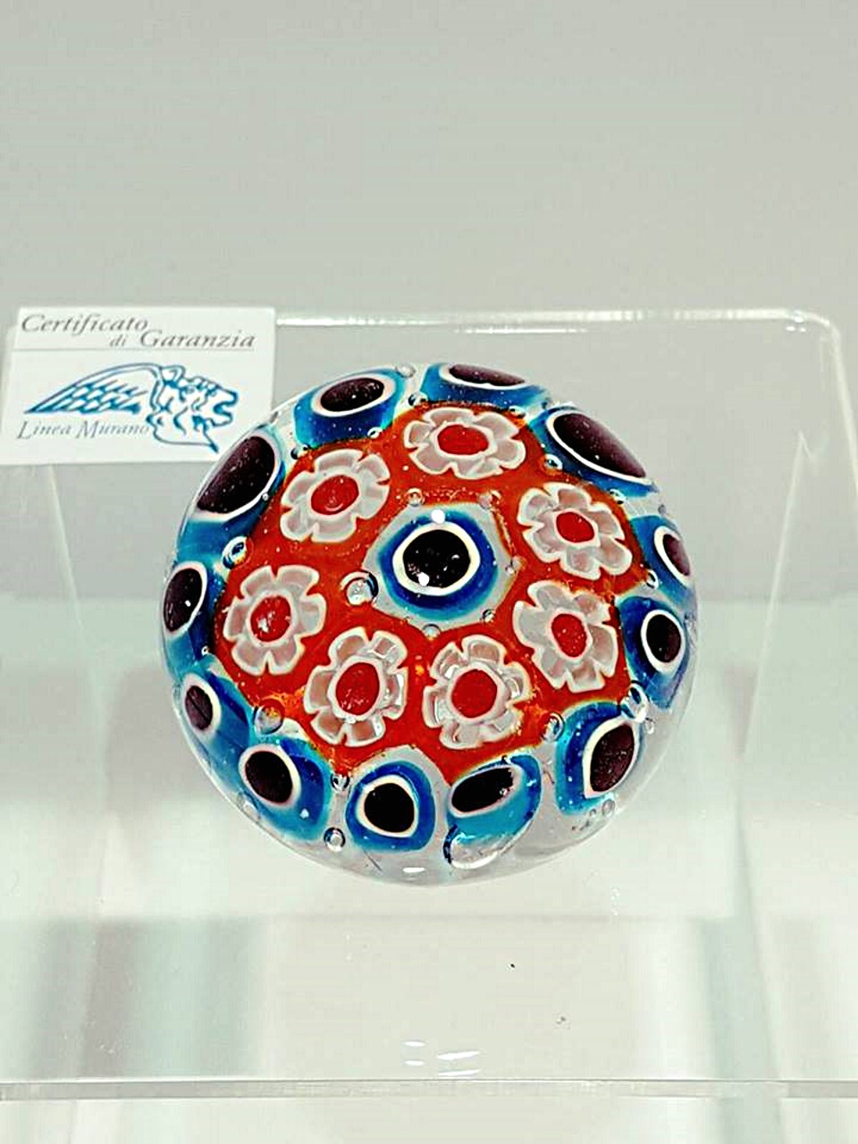 Fermacarte murrina 5 cm