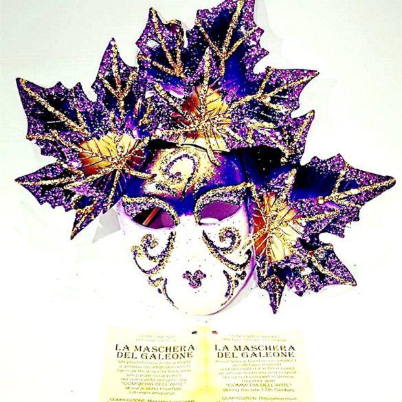 Maschera veneziana fico autunno cm 10