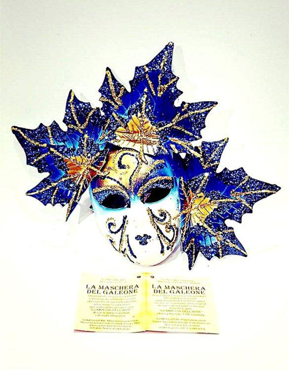 Maschera veneziana fico autunno media