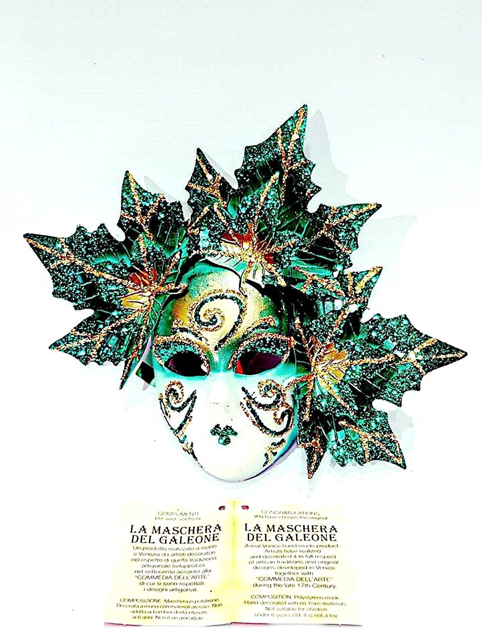 Maschera veneziana fico autunno piccola