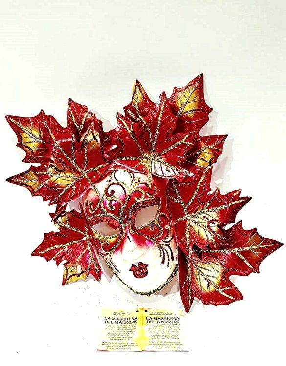 Maschera veneziana fico autunno grande