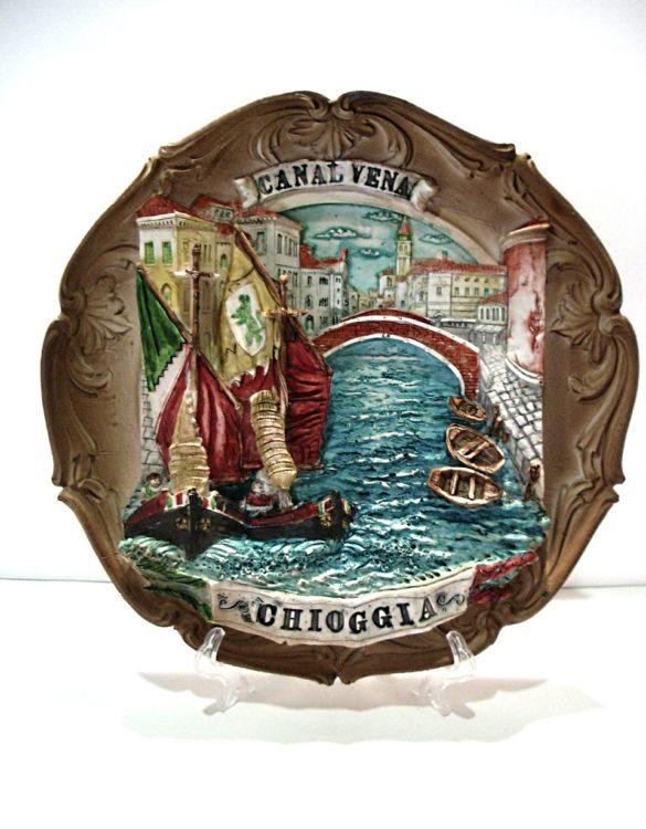 Piatto Chioggia in resina Riva Vena