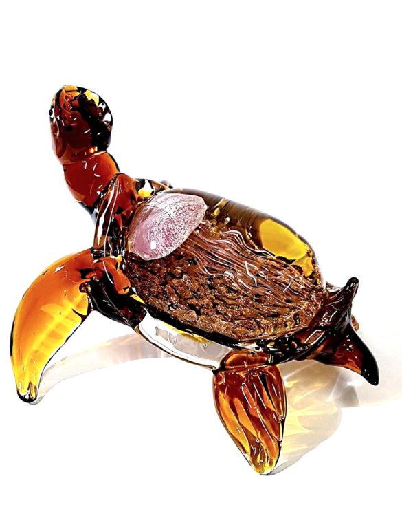 Tartaruga vetro arredamento