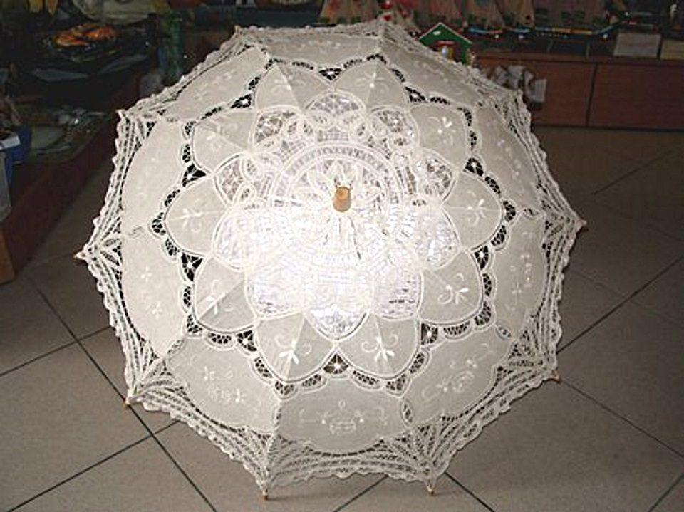 Ombrello pizzo veneziano bianco — Venturini Souvenirs - Vetro di ... c1b4c0d636a0