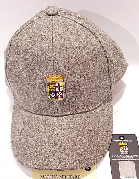 Cappello Marina Militare grigio