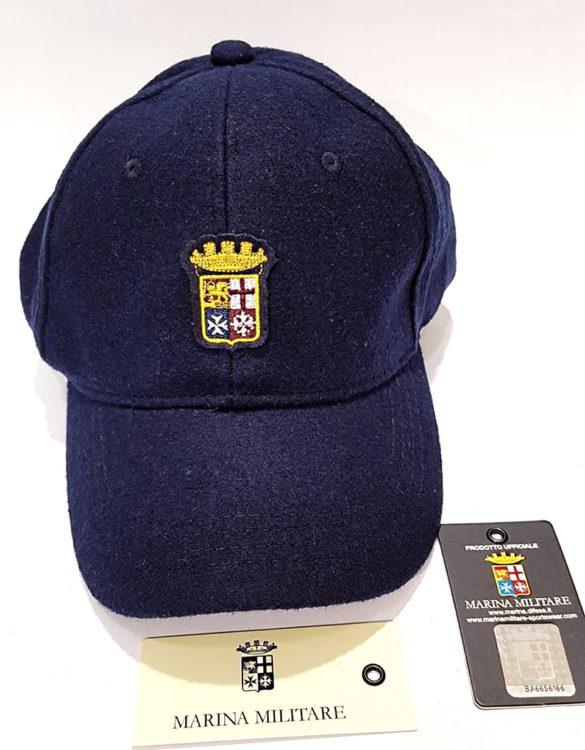 Cappello marina militare blu