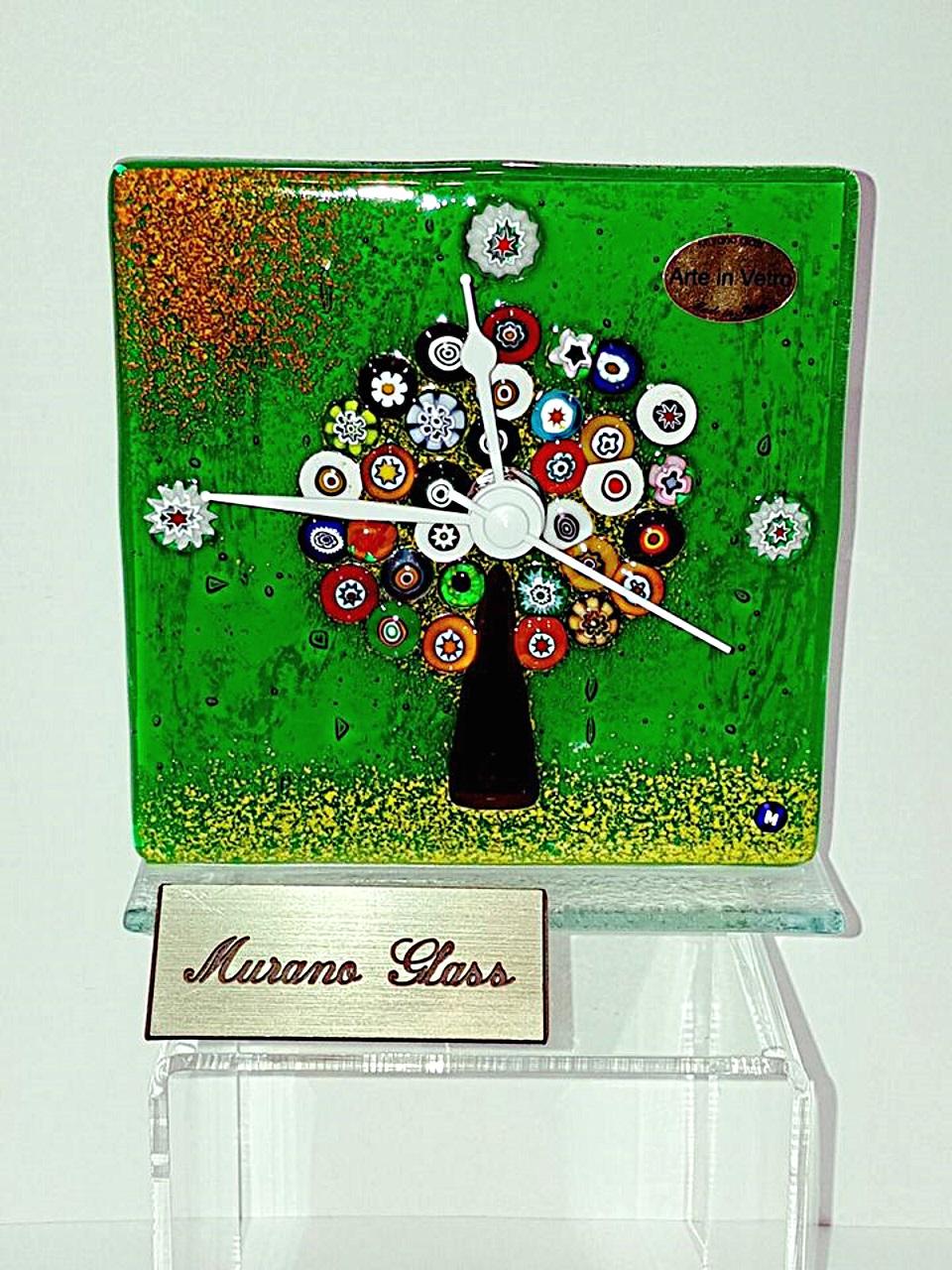 Orologio da tavolo con l 39 albero della vita con la murrina - La murrina lampade da tavolo catalogo ...