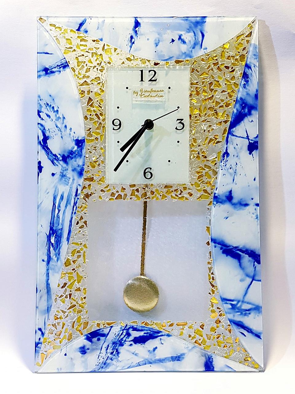 Orologio pendolo blu