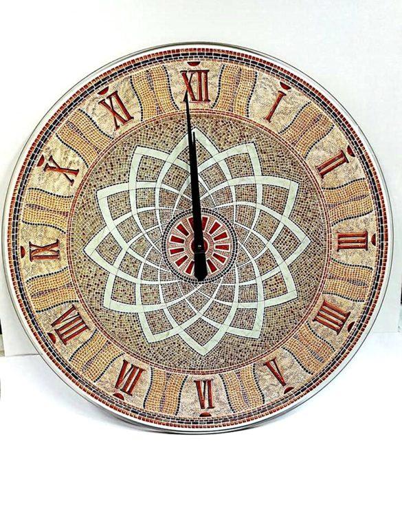 Orologio da parete vetro serigrafato palazzo campidoglio