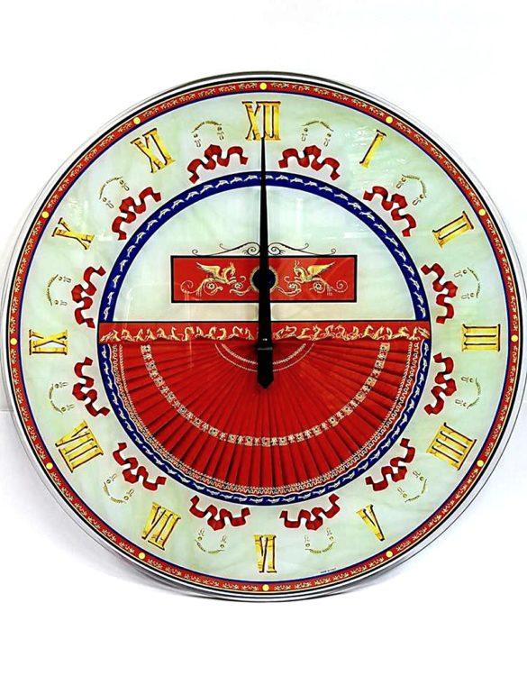 Orologio da parete vetro serigrafato Roma