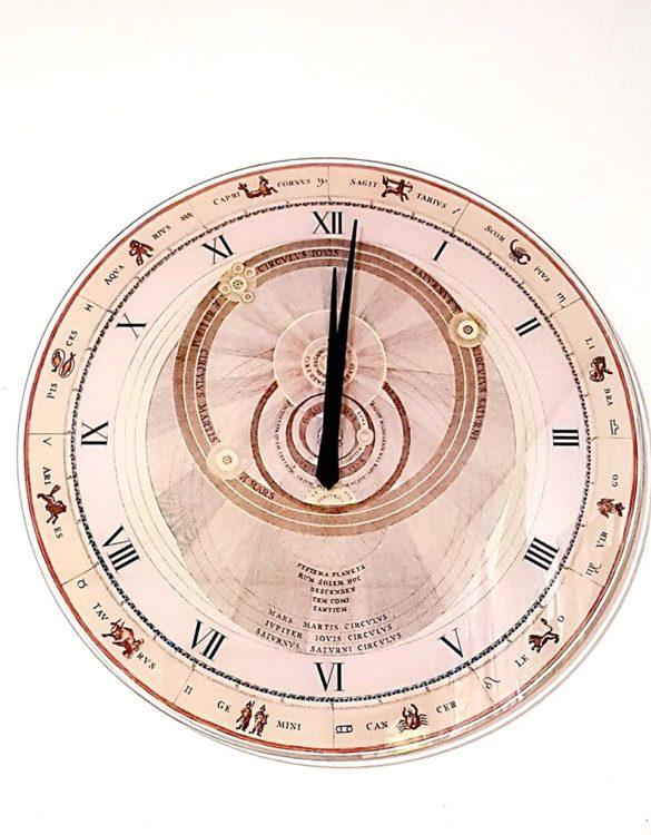 Orologio da parete vetro serigrafato orologio