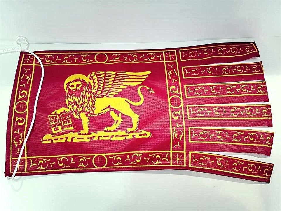 Bandiera Galeone San Marco in tessuto acetato
