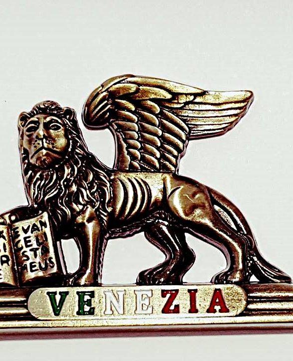 Magnete Leone San Marco in acciaio
