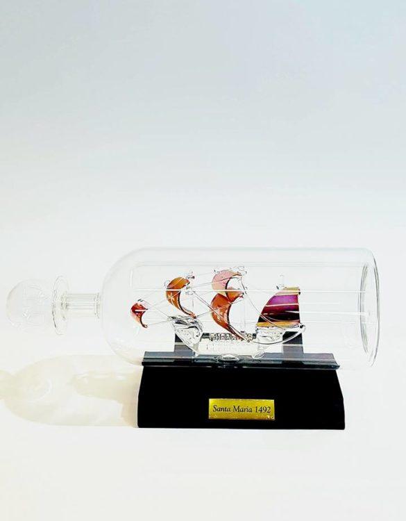 Pinta in bottiglia di vetro