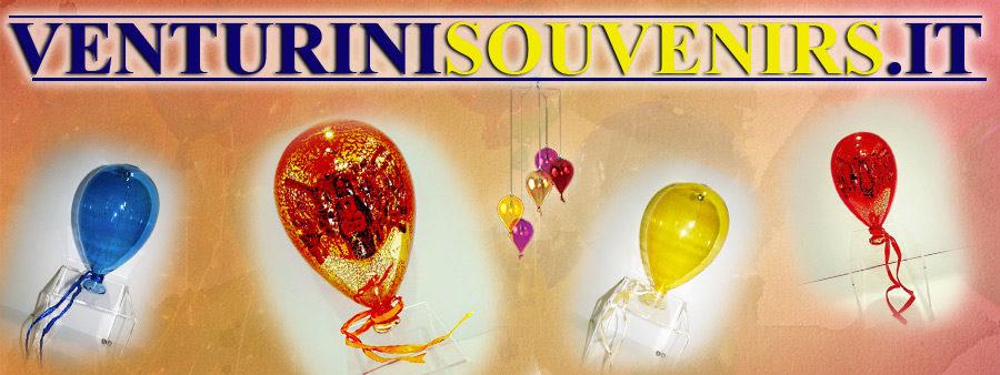 Palloncini in vetro di Murano - Venturini Souvenirs