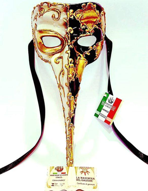 Maschera veneziana medico della peste