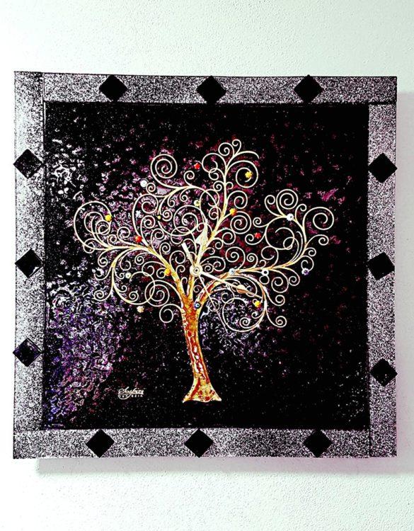 Orologio da muro l'albero della vita