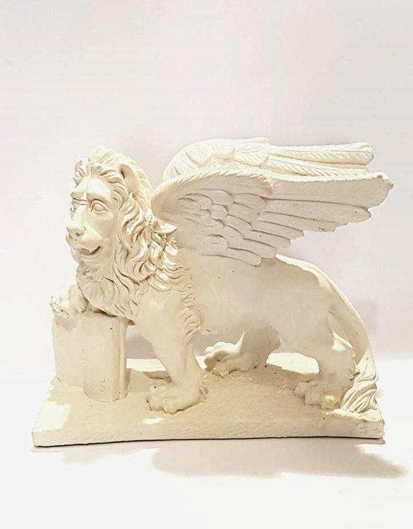 Leone di San Marco grande in gesso
