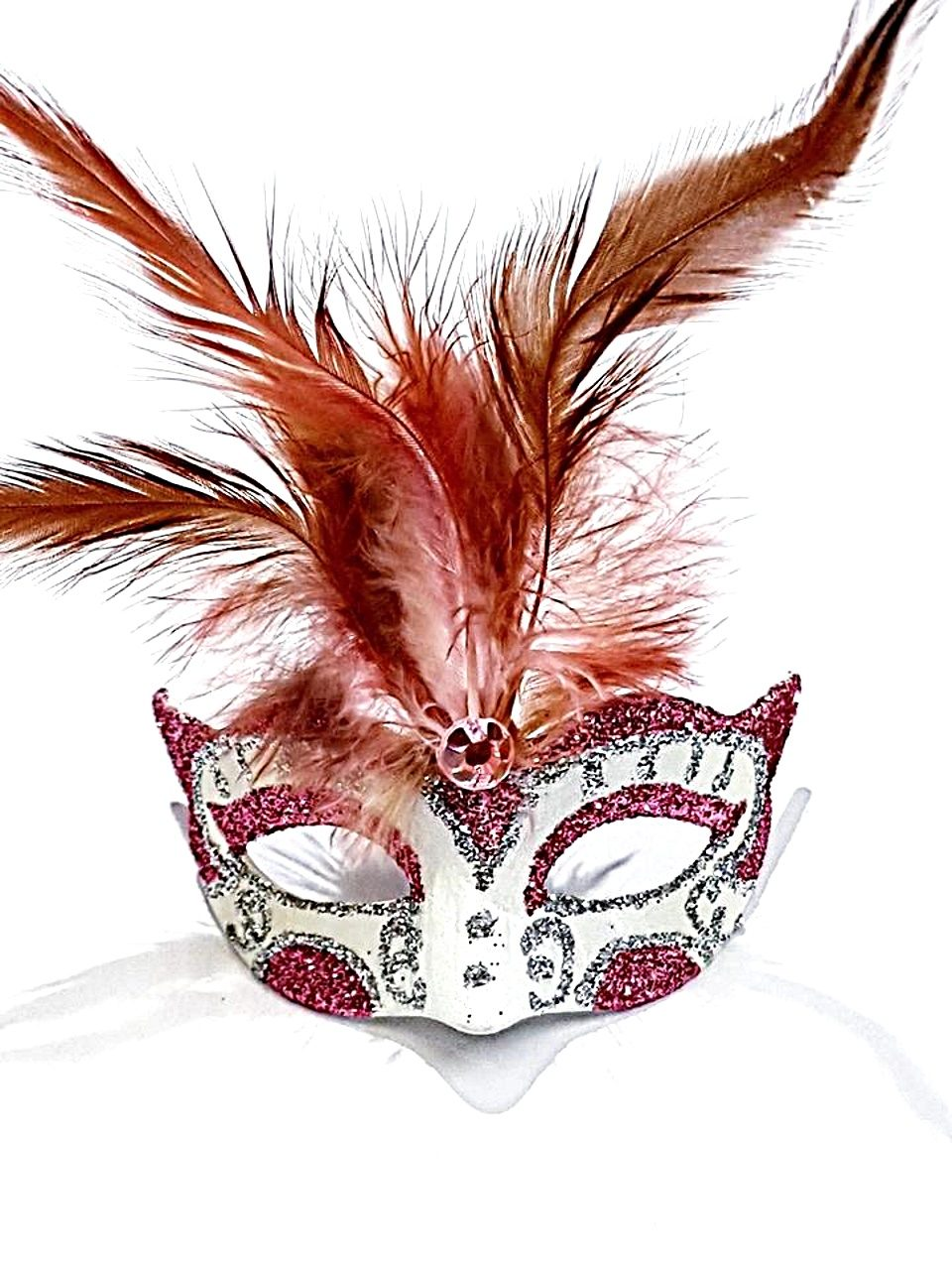 Maschera magnete colombina