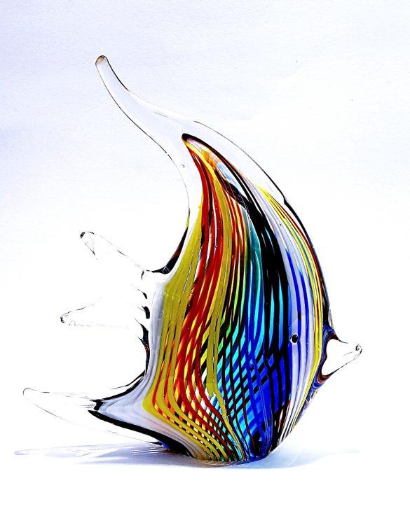 Pesce vetro per arredamento interni