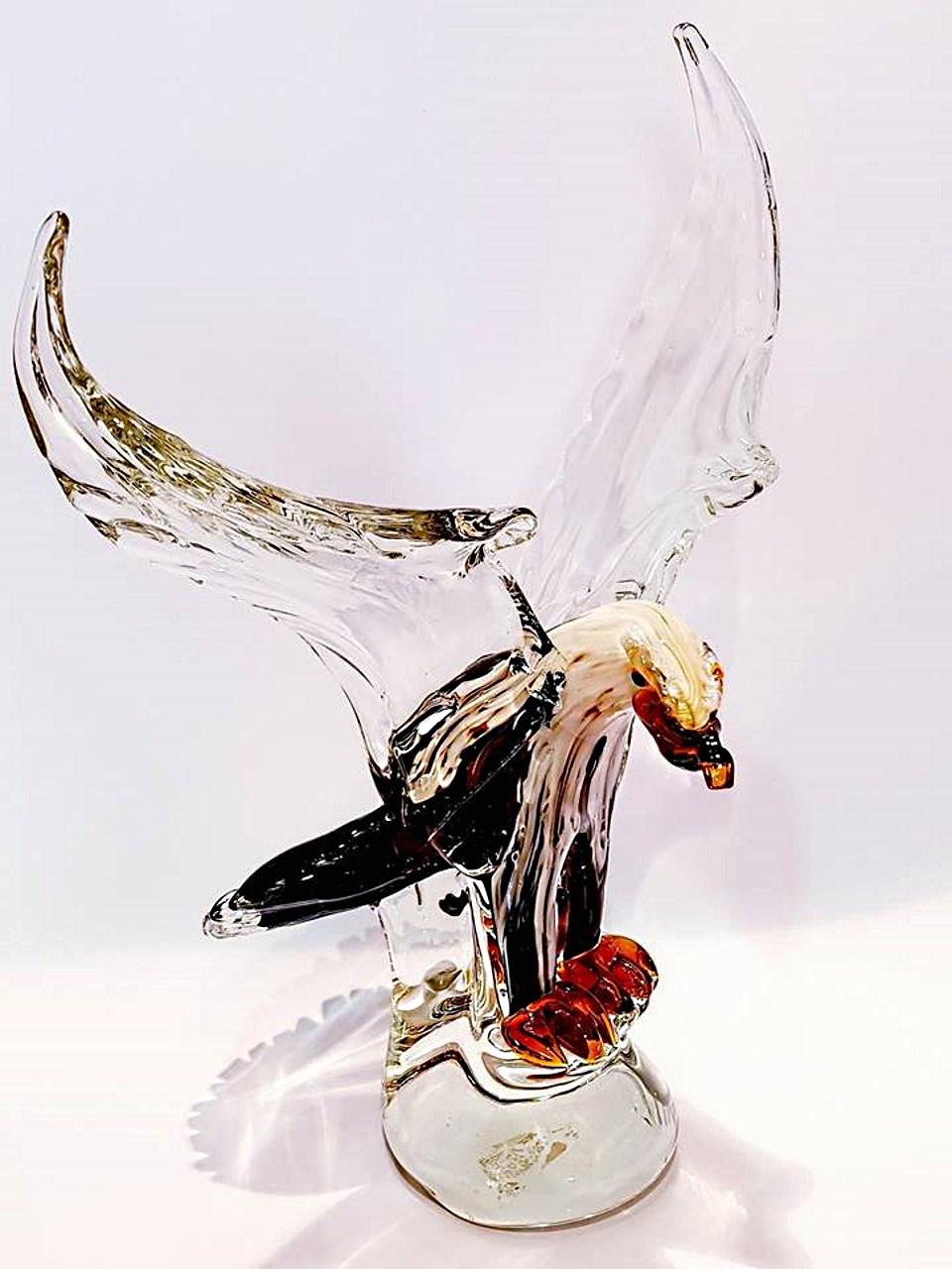 Aquila vetro di murano