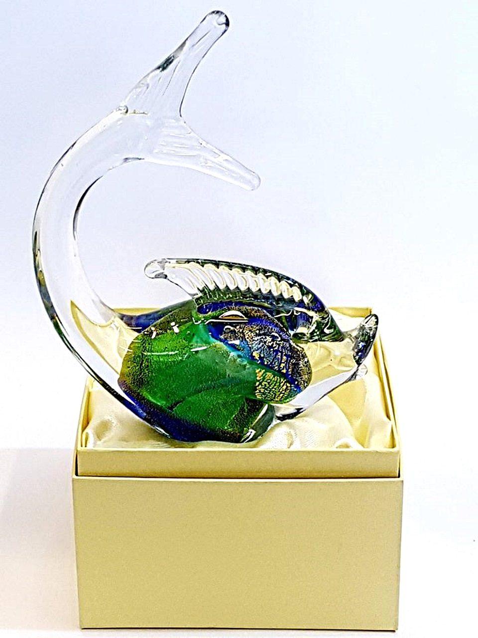 Pesce in vetro di murano missoni