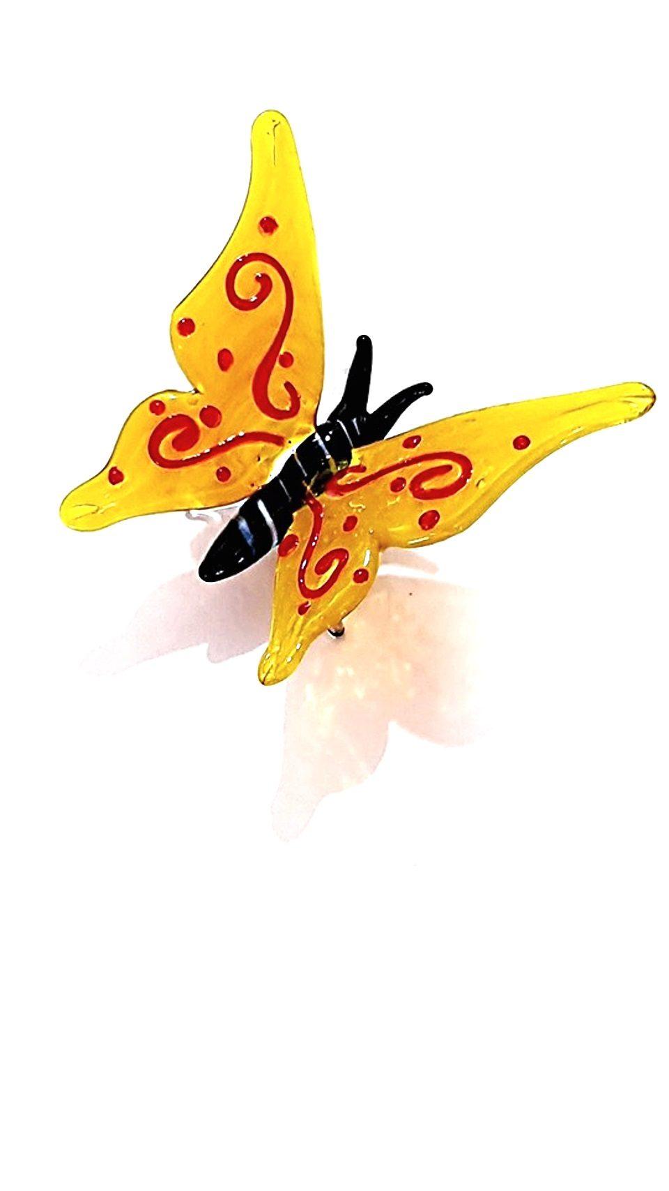 Animale farfalla vetro a lume