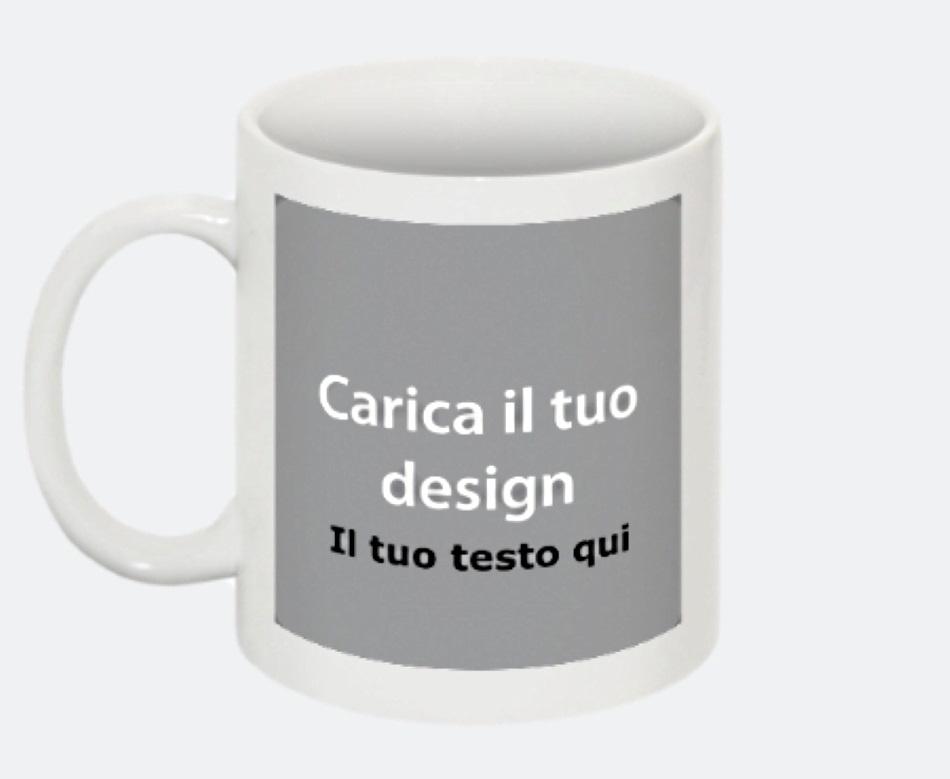 Tazza ceramica personalizzata