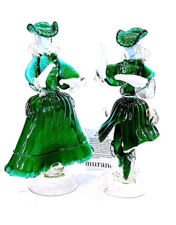 Dama e cavaliere per arredamento interni